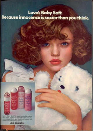 Vintage Perfume Commercial Loves Baby Soft 1975 Yesterdays Perfume